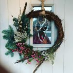 Wreath making at Curlew Cottage